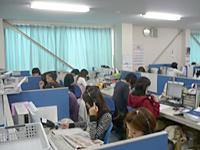 DBSコールセンターのインバウンド業務写真