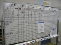 作業工程管理ボード
